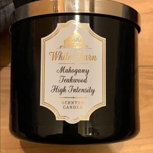 BBW WB Mahogany Teakwood High Intensity Candle